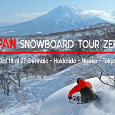 JAPAN SNOWBOARD TOUR ZEBRA