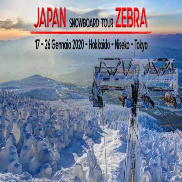 SNOWBOARD TOUR GIAPPONE 2020