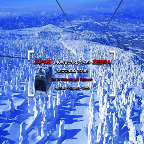 SNOWBOARD TOUR GIAPPONE N.2 – HONSHU 2020