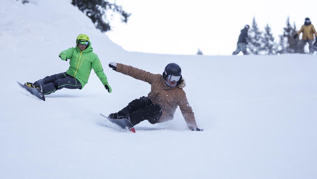 Selezioni per maestri di snowboard