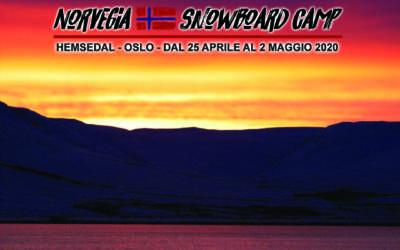 NORVEGIA SNOWBOARD CAMP – Oslo & Hemsedal APRILE 2020