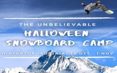 HALLOWEEN SNOWBOARD CAMP – Hintertux (Austria) – 29 OTTOBRE 2020
